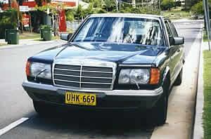 Mercedes-Benz 380SEL