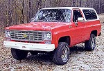 Chevrolet Blazer For Sale
